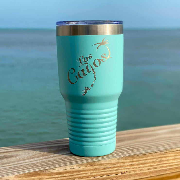 Stainless Steel Los Cayos Tumbler- Mint