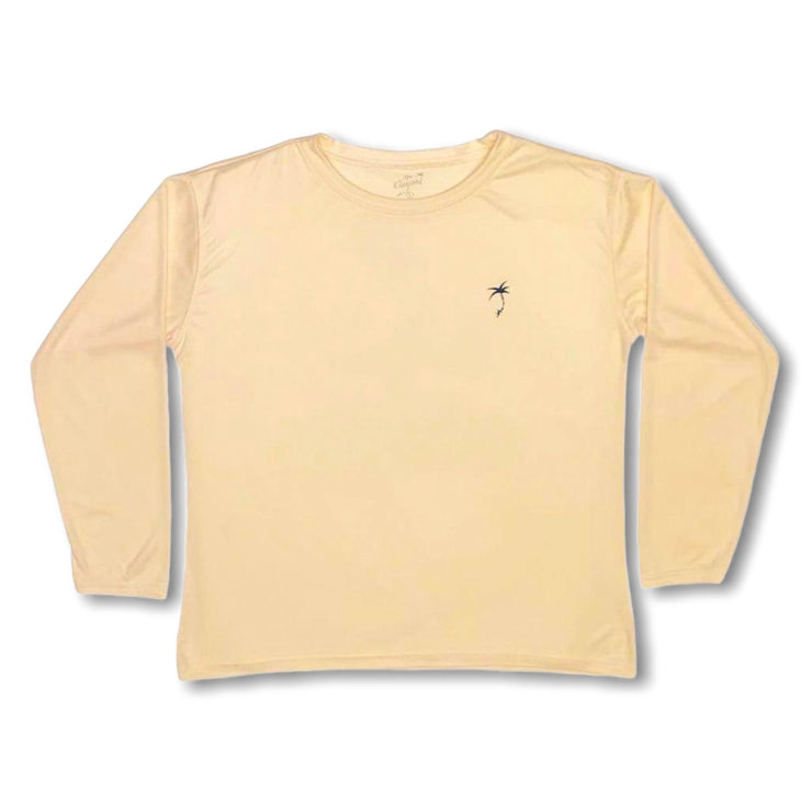 Water Bugs Pepé Pelican / Yellow - Quick Dry UPF 50+ Kids Long Sleeve