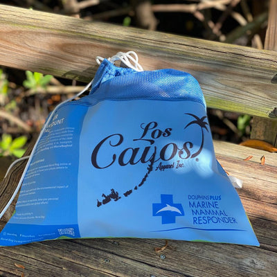 Compact Sustainable Cleanup Barrel Bag Benefitting Dolphins Plus Marine Mammal Responder