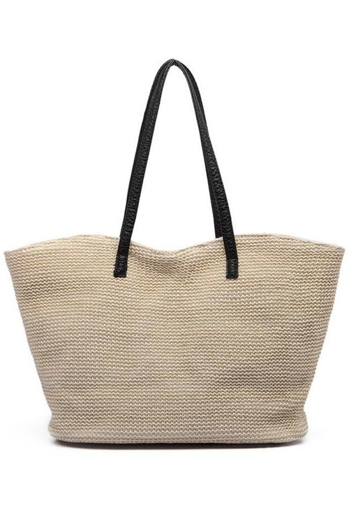 Awadolls Simple Tote Straw Bag