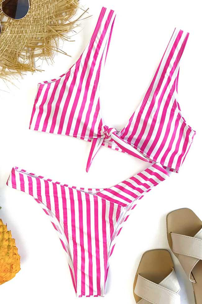 Awadolls Cute suit Gingham Bikini Set