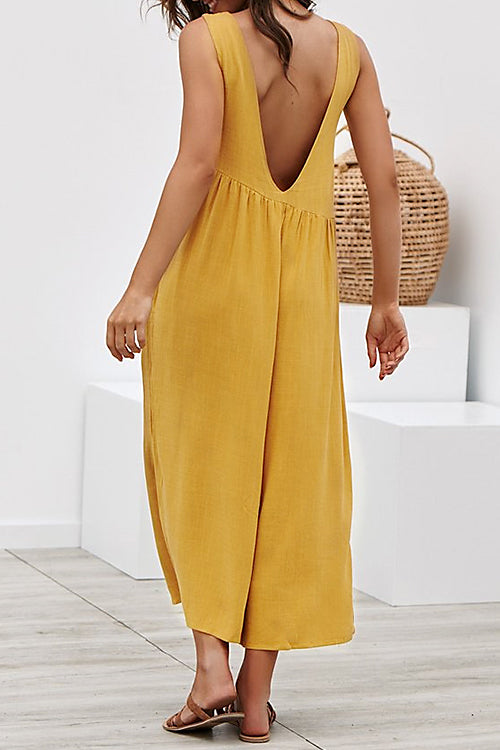 Awadolls Loose Wide Leg Jumpsuit