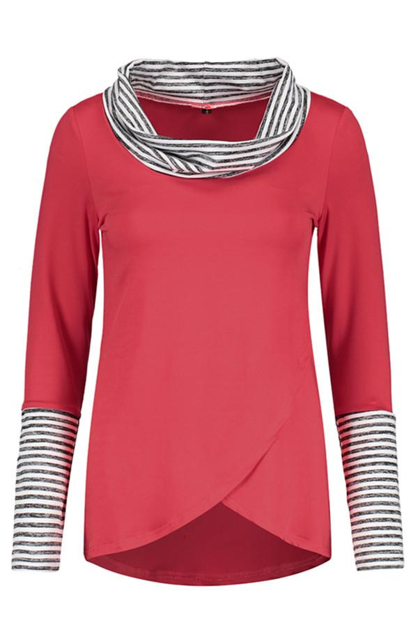 Awadolls Casual Color Block Sweatshirt