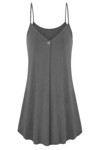 Awadolls One Button Front Camisole