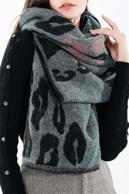 Awadolls Colorful Leopard Scarf