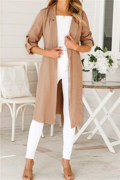 Awadolls Casual Lightweight Overcoat