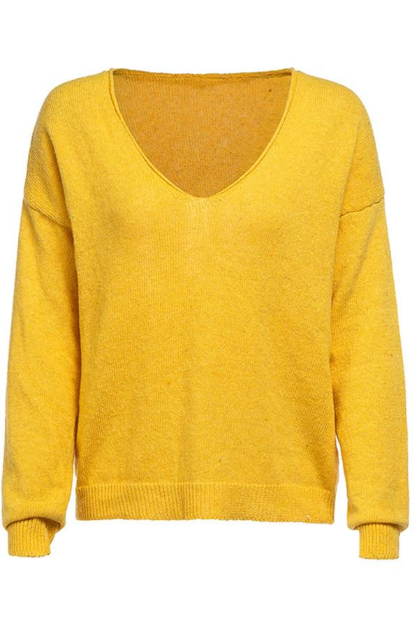 Awadolls Simple V Neck Sweater