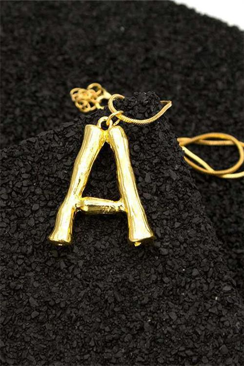 Awadolls Fashion Letter Necklace