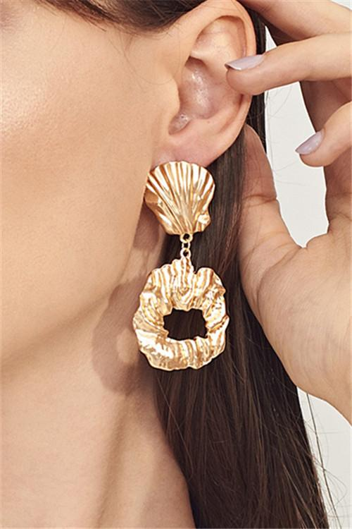 Awadolls Fashion Irregular Circle Earring