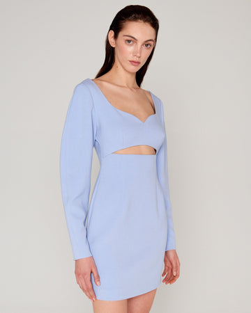Yasmeen Dress Blue