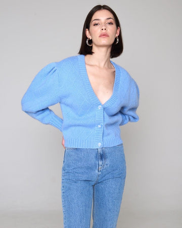 Mohair Blouse Blue