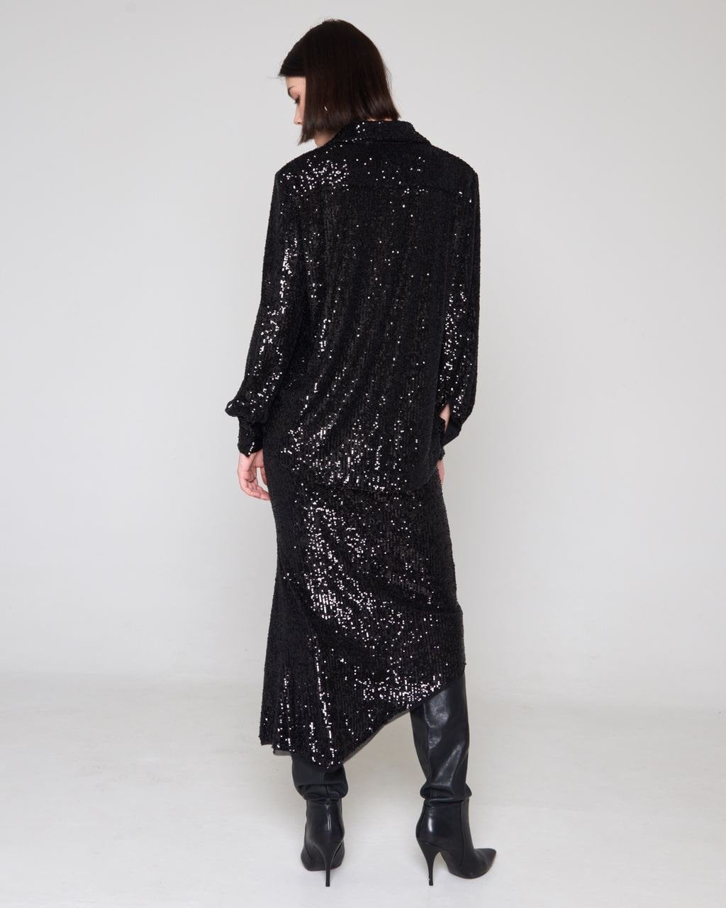 Disco Skirt Black