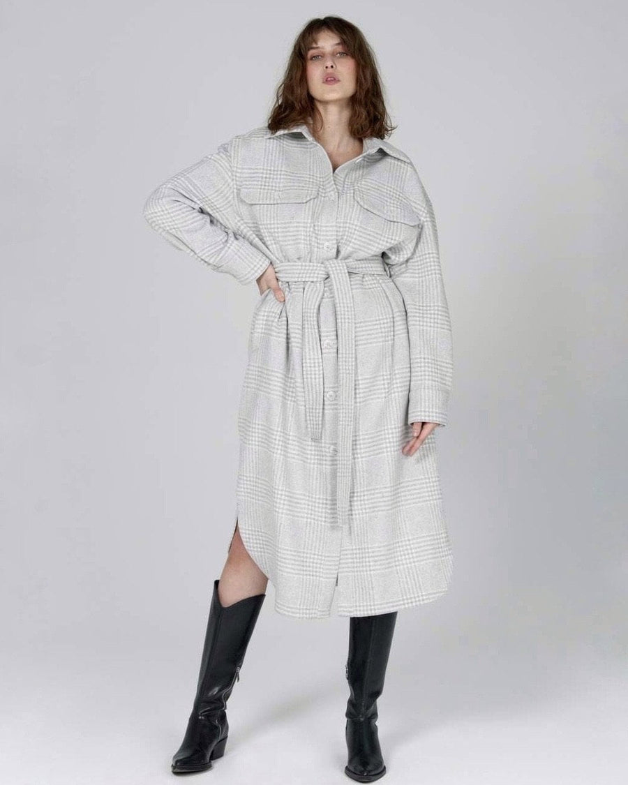 Wool Coat Gray