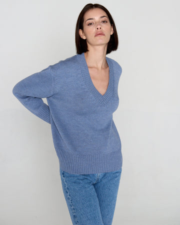 Basic Sweater Blue