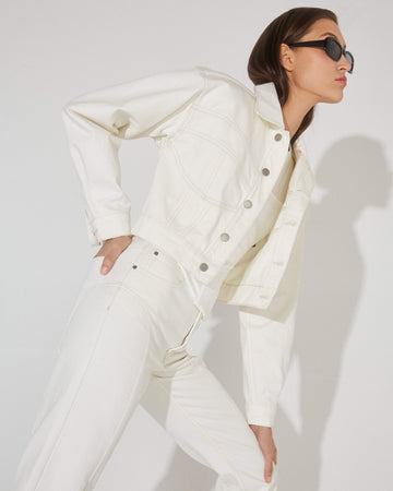Undercut Jacket White