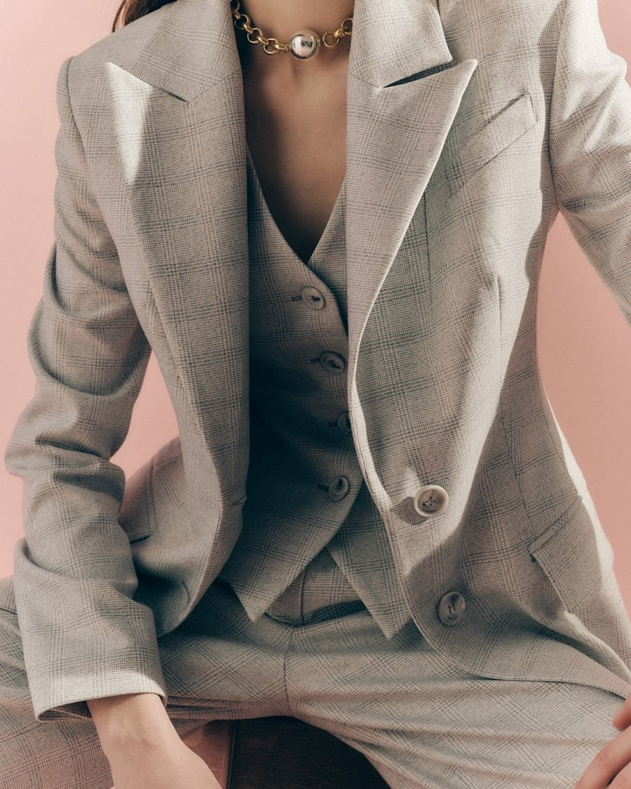 Marlen Suit New Gray