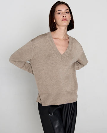 Basic Sweater Beige