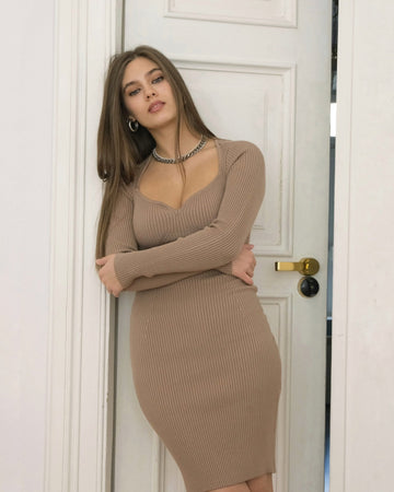 Stef Dress Nude