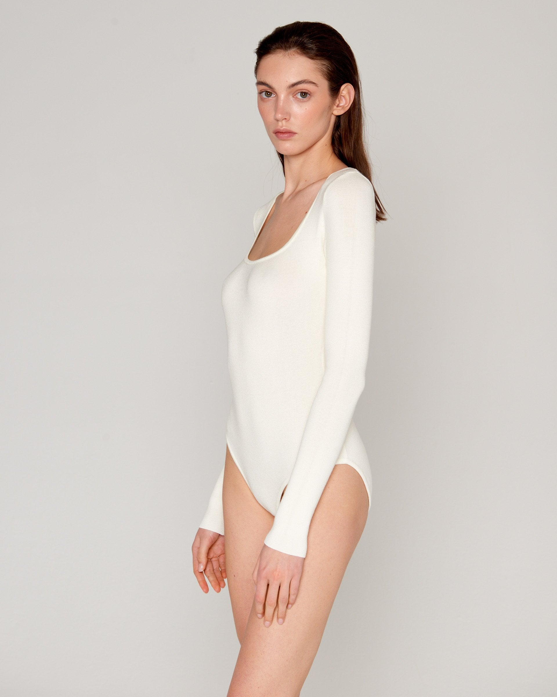 Basic Bodysuit Milk