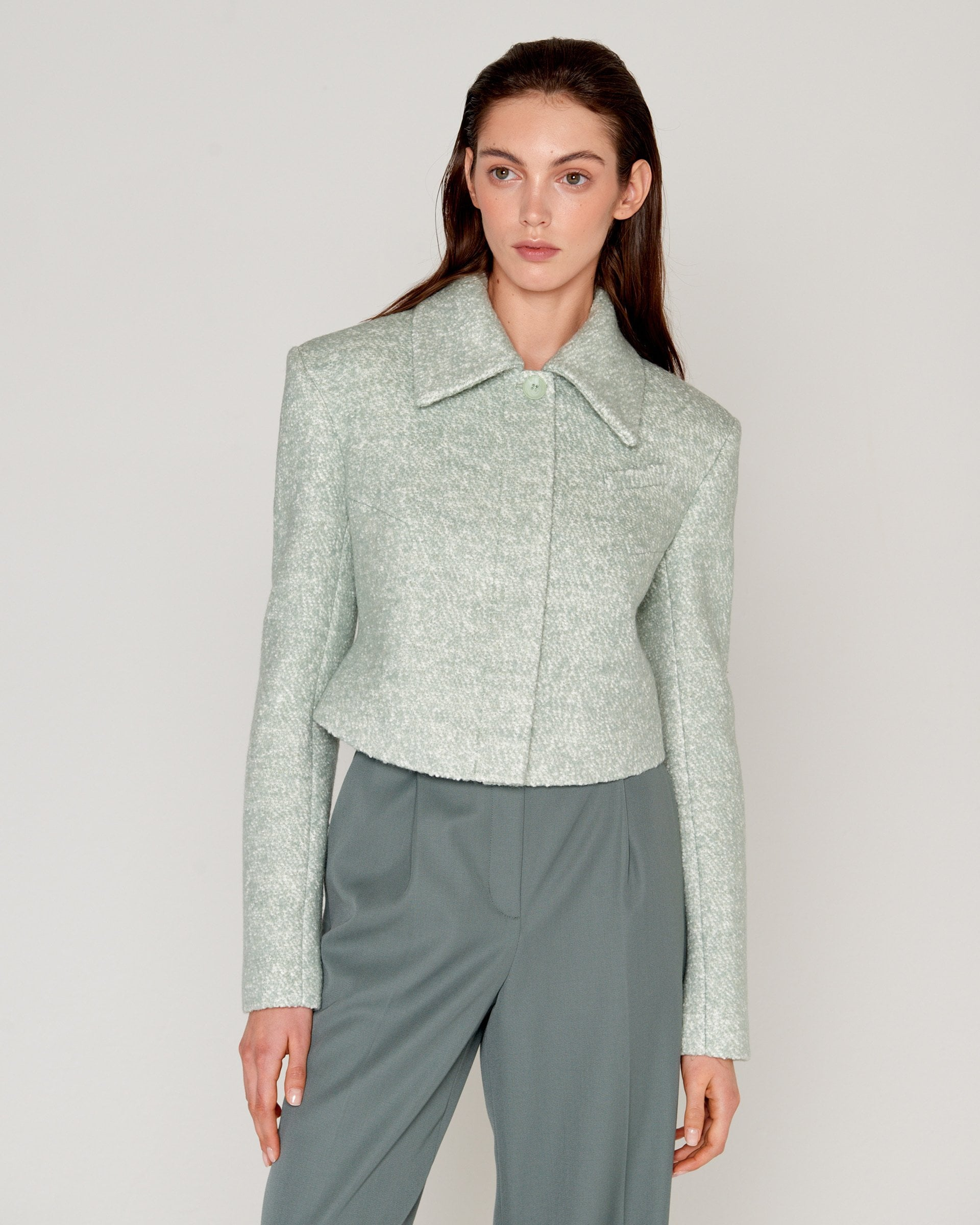 Rectangle Jacket Mint
