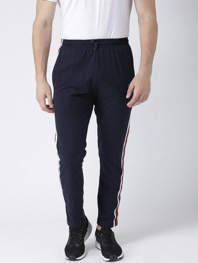 GRIFFEL Men Navy Trackpants