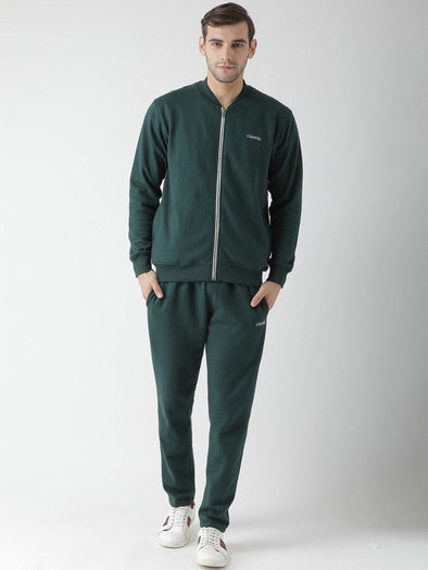 Griffel Men's Front Design Cotton Plating Fleece Tracksuit. - griffel