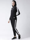 Griffel Women's Solid Fleece Hoodie and Joggers Full set Tracksuit - griffel