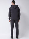 Griffel Men's Front Design Cotton Plating Fleece Tracksuit - griffel