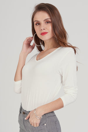 Mantra Pakistan White T-Shirt | TOPS