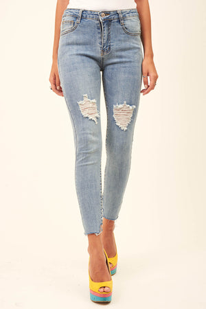 Mantra Pakistan RIPPED JEANS | BOTTOMS