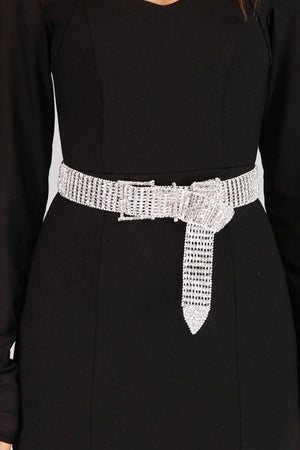 Mantra Pakistan SPARKLING DIAMANTE BELT | ACCESSORIES