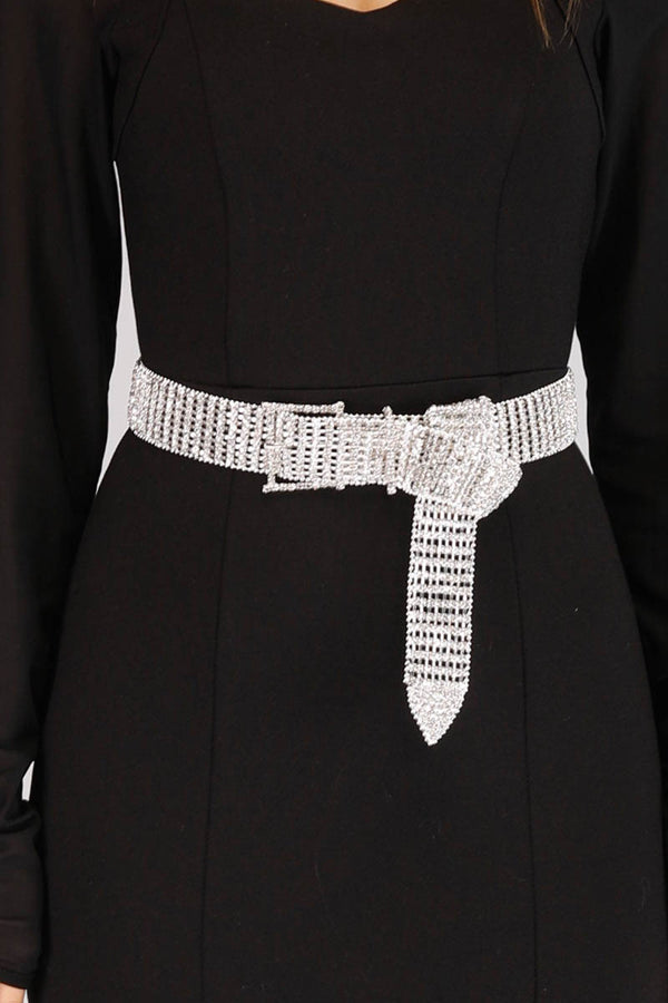 SPARKLING DIAMANTE BELT