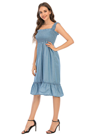 Mantra Pakistan Denim Dress | Western Wear