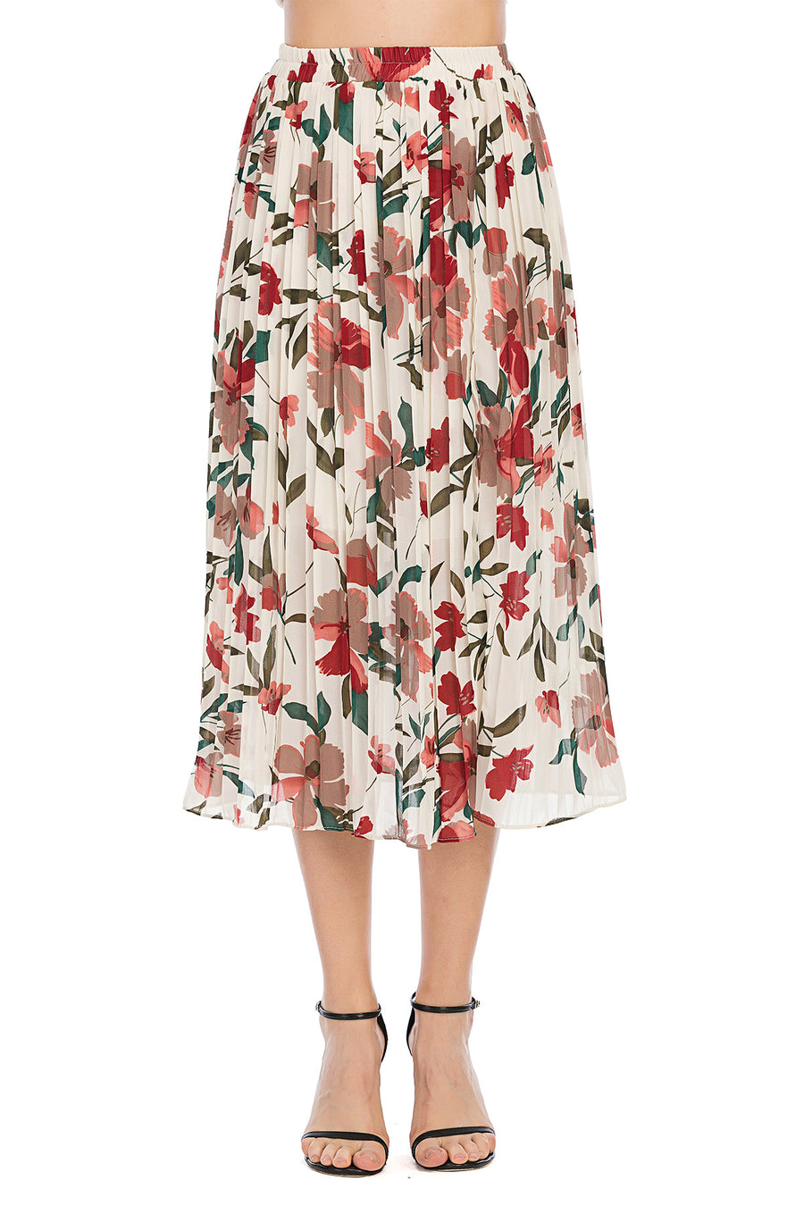 Mantra Pakistan floral skirt | Western Wear