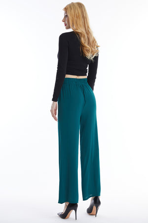 Green Pants with Buttons