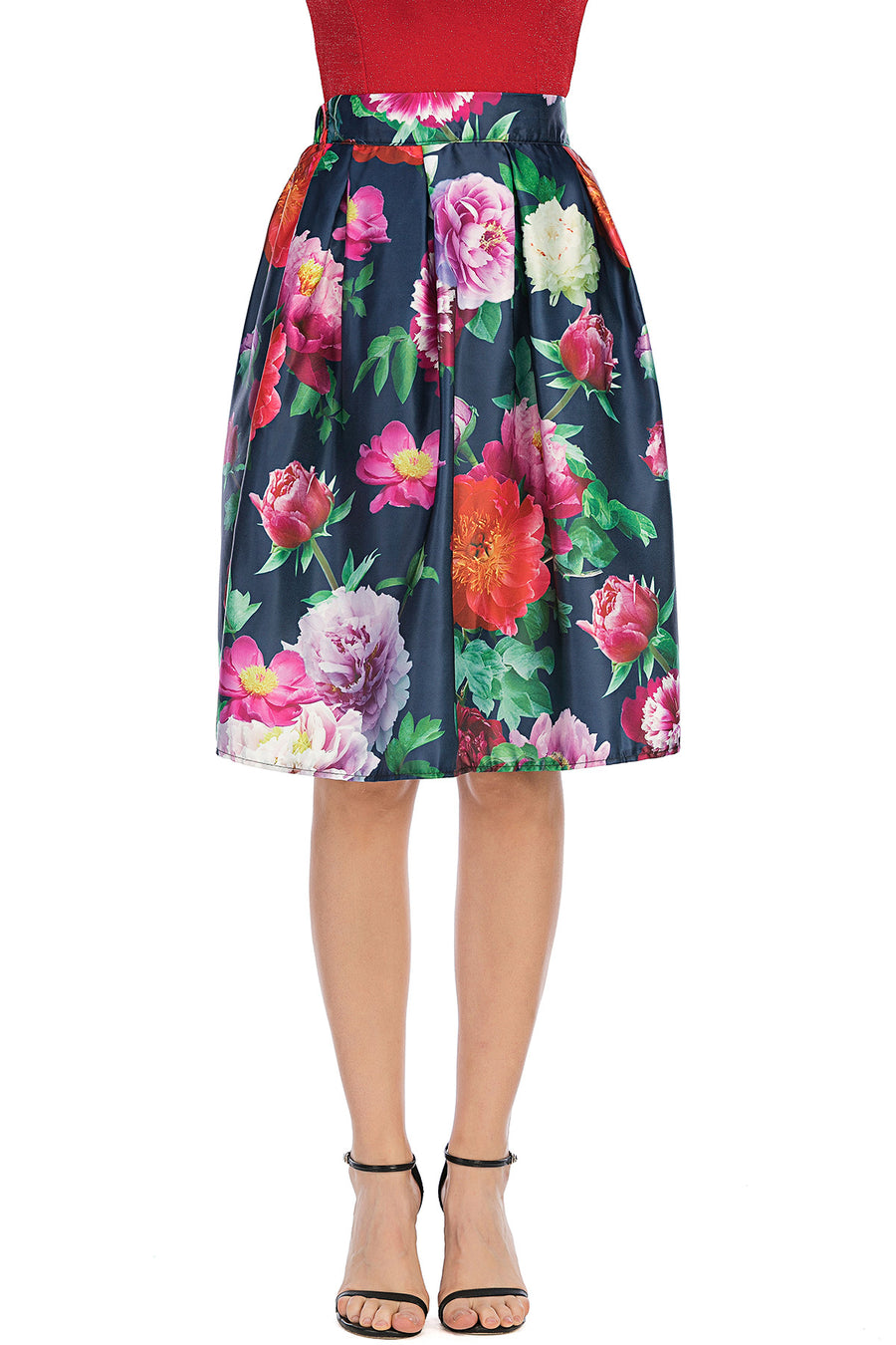Mantra Pakistan Floral print skirt | Western Wear