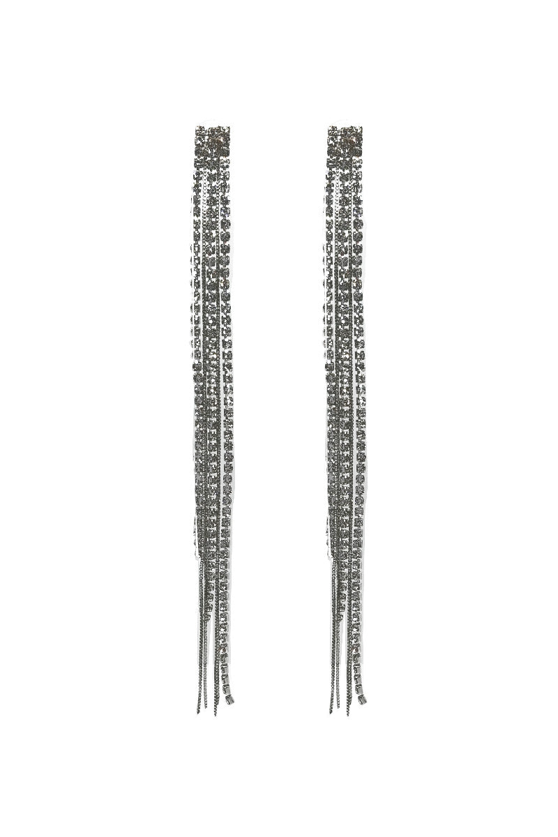 DIAMOND TASSELS EARRINGS