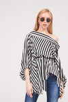 OFF-SHOULDER ASYMMETRICAL TOP