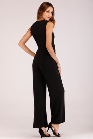 JUMPSUIT WITH GOLDEN STRIP - Mantra Pakistan