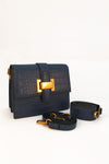 CROSSBODY BAG WITH BUCKLE CLASP