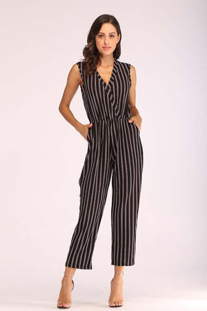 Mantra Pakistan STRIPED KNIT JUMPSUIT | DRESS