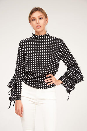 Mantra Pakistan POLKA DOT TOP | TOPS
