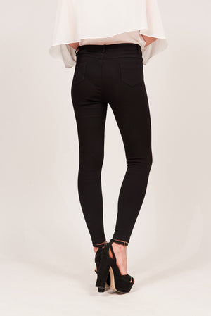 Mantra Pakistan SOLID COLORED JEGGINGS | BOTTOMS