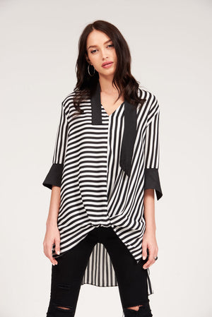 Mantra Pakistan STRIPED TOP | TOPS