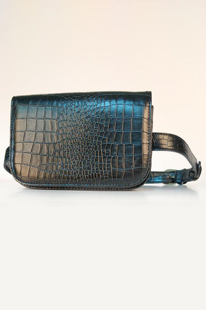 Mantra Pakistan CROC EFFECT WALLET BELT | ACCESSORIES