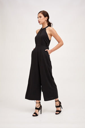 Mantra Pakistan HALTER NECK JUMPSUIT | DRESS