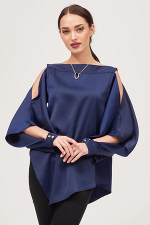 Mantra Pakistan SOLID COLORED COLD SHOULDER TOP | TOPS