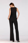 SOLID COLORED JUMPSUIT WITH FRONT BUTTONS