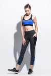 WORKOUT PANTS WITH LATTICE CORD