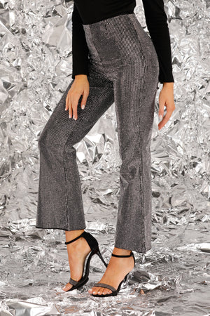 Mantra Pakistan Diamond Studded Pants | BOTTOMS